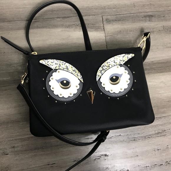 e00b53cc8dcd Kate Spade Star Bright Owl Madelyne Crossbody